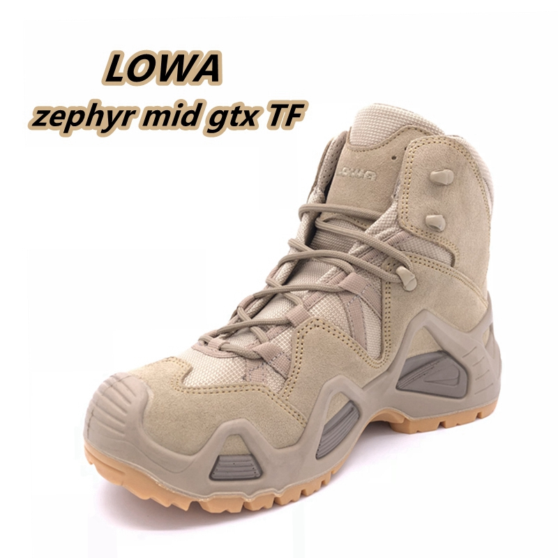 The new LOWA Zephyr GTX MID TF mens mid-waterproof desert hiking cross-country hiking shoes 310537