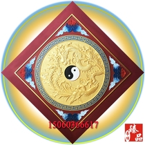 Perfect ceiling Buckle Board Temple Buddha Hall Gujanford Boutique flower grid ceiling relief gossip Qiankun Red
