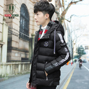 Male winter cotton padded jacket padded coat Mens 2017 new bread Polo winter short cotton male Korean character