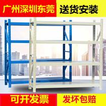 Shelf display rack Storage multi-layer storage warehouse warehouse removable warehouse Express household heavy iron shelf