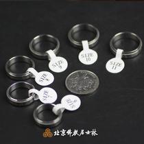 (Beijing Buddhist Kushilin) auspicious articles - silver six-character wheel ring ring pendant