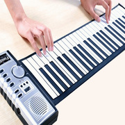 61 key piano keyboard hand portable folding speaker with MIDI interface children study a good helper