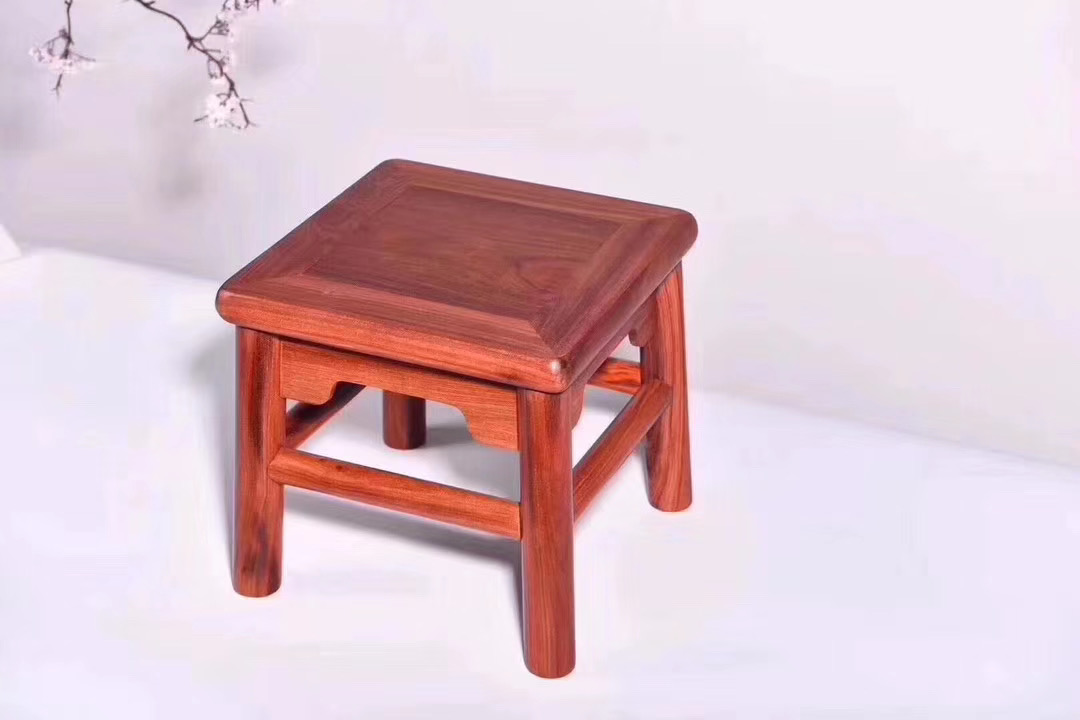Red pear rich life stool removable whole structure face single board childrens stool