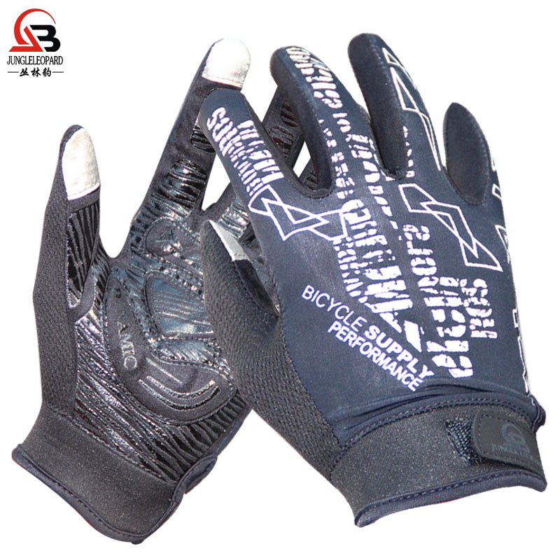 Climbing gloves Summer skid-proof gloves Outdoor sports breathable touch screen all-finger gloves genuine package