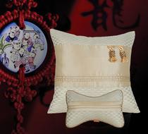 头枕抱枕靠垫爱车驹时尚汽车用品个性经典中国风新品礼品