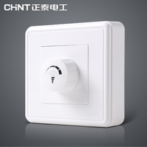 (Ming) Zhengtai electrician NEW1C switch socket A linked dimming switch panel zhengtai switch socket