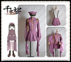 Guilty Crown Inori Yuzuriha Cosplay costumes