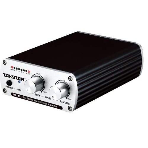 Takstar/Successful MA-1C Professional Recording and Playing Network K-song Microphone Amplifier Microphone Reverberator