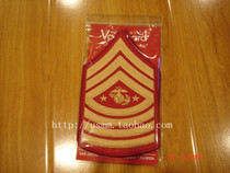 MC1 - [Spot] US Straight-haired Genuine USMC Marine Corps Chief Sergeant Arm Band (Gift Wear)