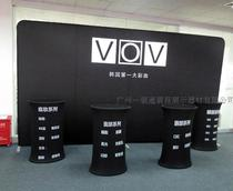Fast Curtain show straight background cloth bracket Publicity Meeting Background Board of the exhibition supplies thermal transfer painting