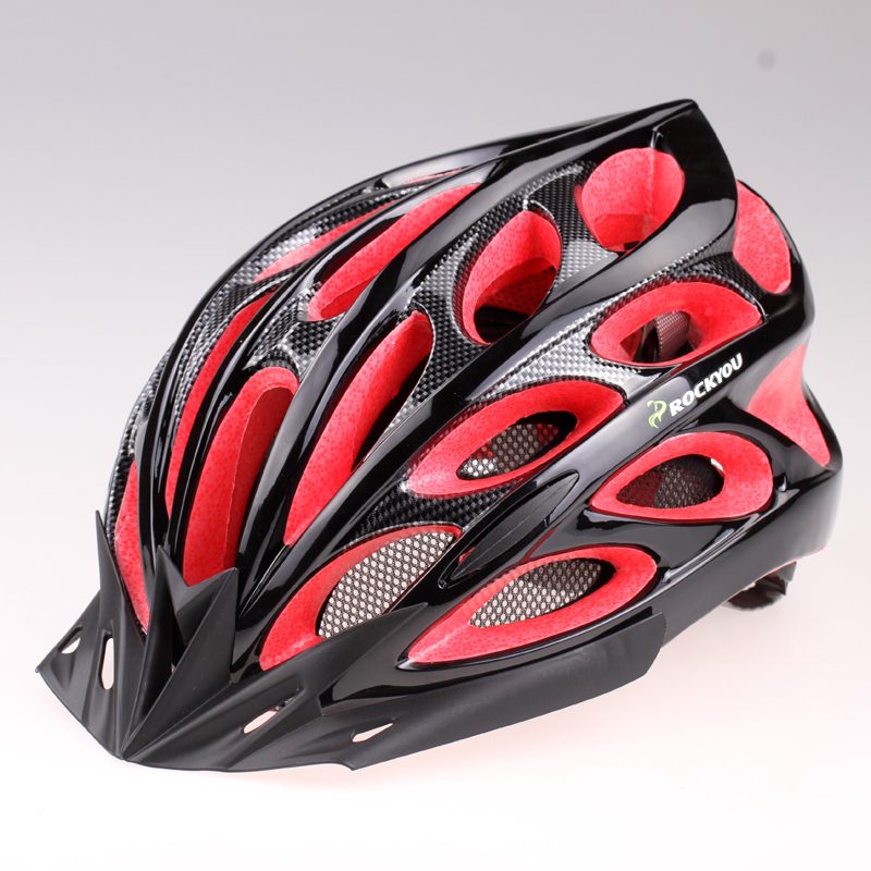 ROCKYOU Riding Helmets Integrated Formation Mountainous Bicycle Helmets for Men and Women Q