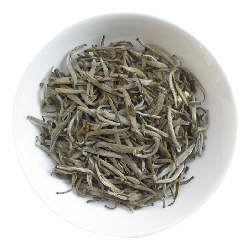 [The goods stop production and no stock]2018 New Tea Emblem Zou Premium Jasmine Tea Jasmine Silver Needles Tea Flower Tea 50g