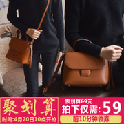 2017 new trendy new ladies bag retro all-match portable Shoulder Messenger Korean girls leisure bags