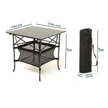 En plein air Table pliante et chaises décrochage table portable En alliage daluminium table camping à manger plage camping promotionnel table formation table