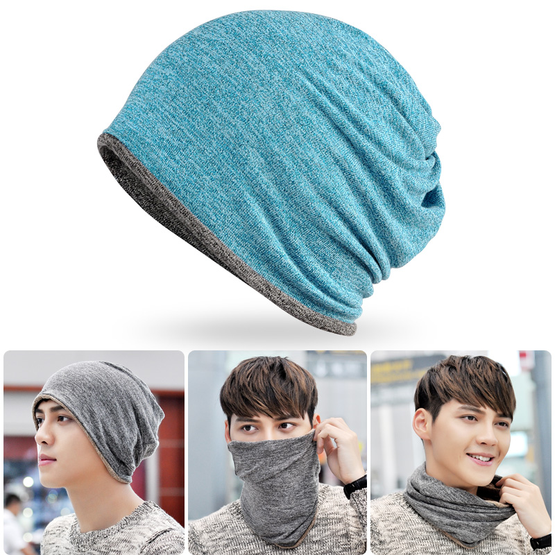 Outdoor windproof warm collar sports magic scarf riding collar running men and women headgear thickening hat
