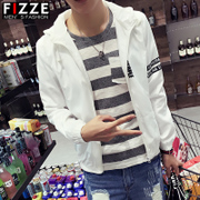 Spring jacket men's jacket casual student youth sun light spring and summer wear thin sports clothing