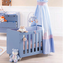 Bedroom baby bed European crib neo-classical crib childrens room boy bed with guardrail r7591