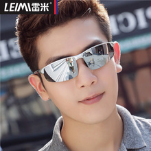 2018 new polarized sunglasses, men's glasses, sunglasses, men's eyes, personality, driving drivers, driving glasses.