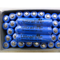 New No.7 Lithium Battery AAA 10440 Lithium Battery 600mAh 3.6V Charging Lithium Battery No.7 Charging Battery