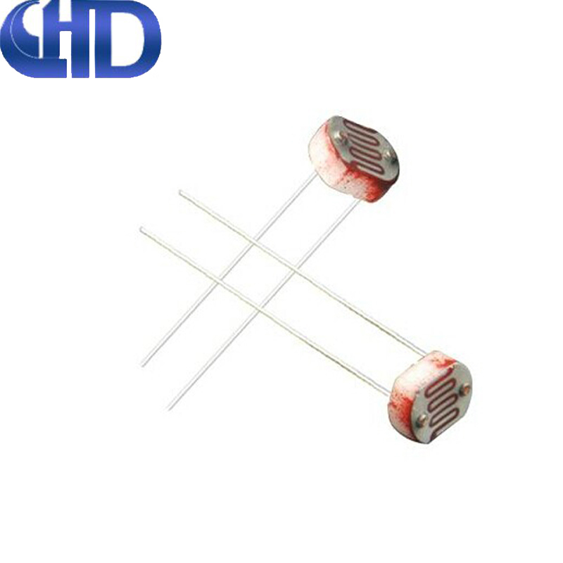 Fifty 5549 Photoresistor Photoelectric Switch Photoelectric Sensors 5MM in Qihaodamu