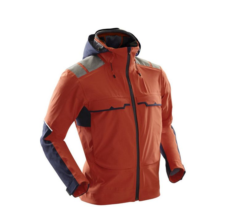 X-Bionic Outdoor Jacket 3L Stormwear Windbreak and Rain-proof Men's O0476 Waterproof Soft Shell