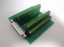 Substitute research Hua ADAM3968 Terminal Board SCSI 68 Core Acquisition card transfer Board relay terminal