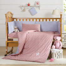 Lovo my home textiles Luo Lai Company produced lucky Star-Baby Bed products 9 Sets