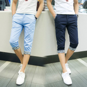 Seven summer pants men thin 7 slim casual pants pants shorts pants men men men's summer tide