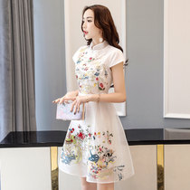 2017 summer new Korean women loose loose long temperament sweet wild dress spring fashion set