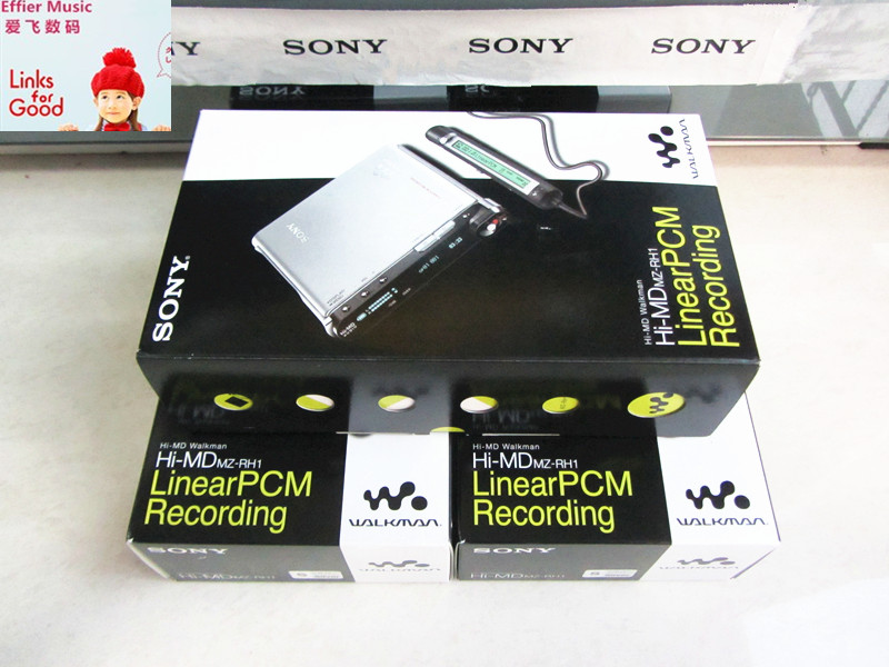 Japan original Sony / SONY MZ-RH1 flagship HIMD music with sound new spot