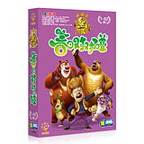 2015 Genuine CCTV cartoon animation 10DVD bear out of spring on the touch of 1-52 set of high-definition discs