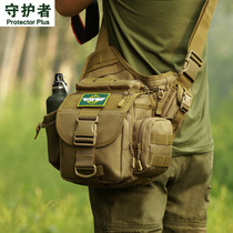 SLR camera Bag oblique carry small single shoulder photography bag tactical waistband big saddle bag male Luya fishing bag Super Saddle bag