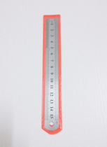 Stainless steel ruler 15cm 20cm double-sided scale ruler