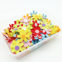 Art childrens world handmade cloth diy production material package non-woven flowers Chrysanthemum accessories accessories 90