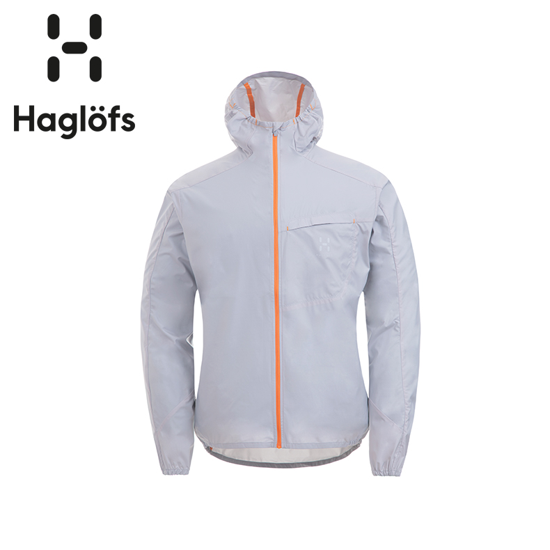 Haglofs matchstick men's outdoor sports light windproof water-proof skin windbreaker 603128
