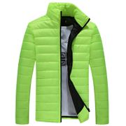 2016 new winter sports leisure male cotton padded jacket slim young color code