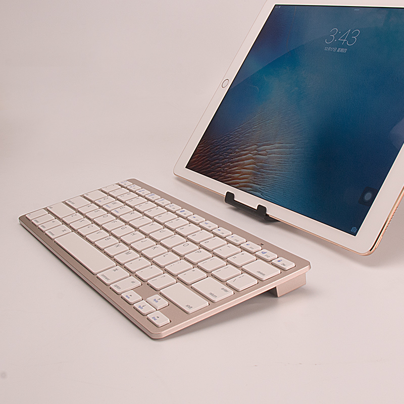 Qianye Wireless Bluetooth Keyboard Apple iPad External Android Mobile Tablet Computer Ultra-thin Mini 4 Keyboard Small