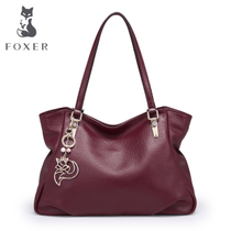 Jin Huli ladies cowhide Joker simple handbags