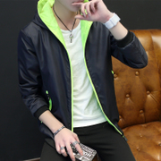 In the spring of 2017 new men's coats on clothes jacket thin and young Korean male leisure men's fashion
