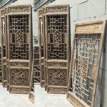 Резьба по дереву Доньян антикварные двери и окна Китайская решетка из цельного дерева фон перегородка перегородка Дверь из цельного дерева резная дверь решетчатая дверь