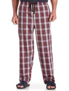 The United States HARBOR BAY 99534 plus fat Mens XL cotton plaid pants Home Furnishing elastic waist