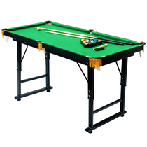 Charming Child King Size High Quality Pool Table Home Folding Small Table  Stand Removable