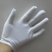 DIY hand tool material work gloves cotton thickening ceremony white cotton gloves thick section