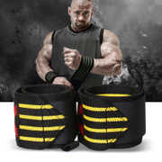Male fitness wristbands elastic bandage training nursing wrist extension brace anti female weightlifters wrist sprain