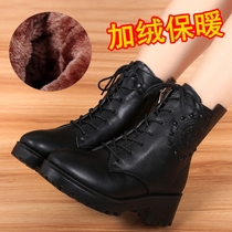 Autumn and winter boots Martin boots British wind warm cotton boots short ditch snow cotton shoes students female shoes influx of women boots