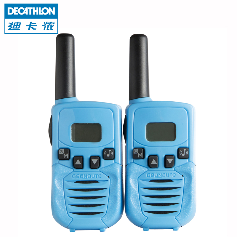Decathlon outdoor sports camping climbing handheld long-distance screen walkie-talkie pair of FOR1