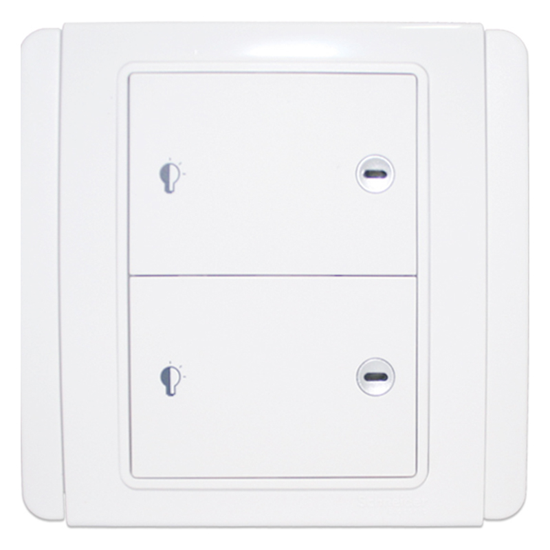 Schneider Switch Socket E3000 Metro Series Dual LED push-type dimmer switch