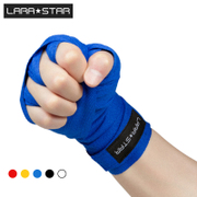 The star of Lara cotton bandage with sandbags hand boxing Sanda handgrips fight Muay Thai fighting hand tied 5 meters