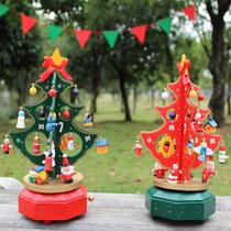 Cadeaux de Noël bricolage arbre de Noël Boîte À Musique fenêtre décoration contre décoration envoyer enfants de petite amie de Noël cadeaux