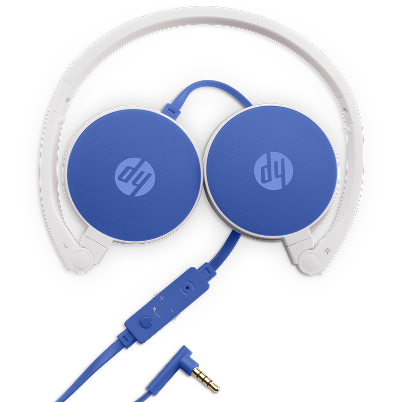 HP H2800 headset blue headset W1Y20AA HP tablet tablet headset headset